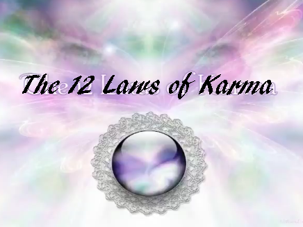 The Twelve karmic laws video
