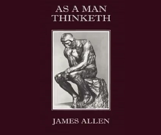 As A Man Thinketh - Law of Attraction - James Allen Audiobook Cover