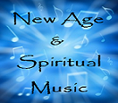 Spiritual New Age Musical Notes Blue