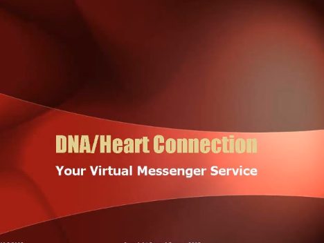 Dna Heart Connection video Cover red