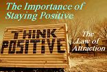 The Importance of Staying Positive